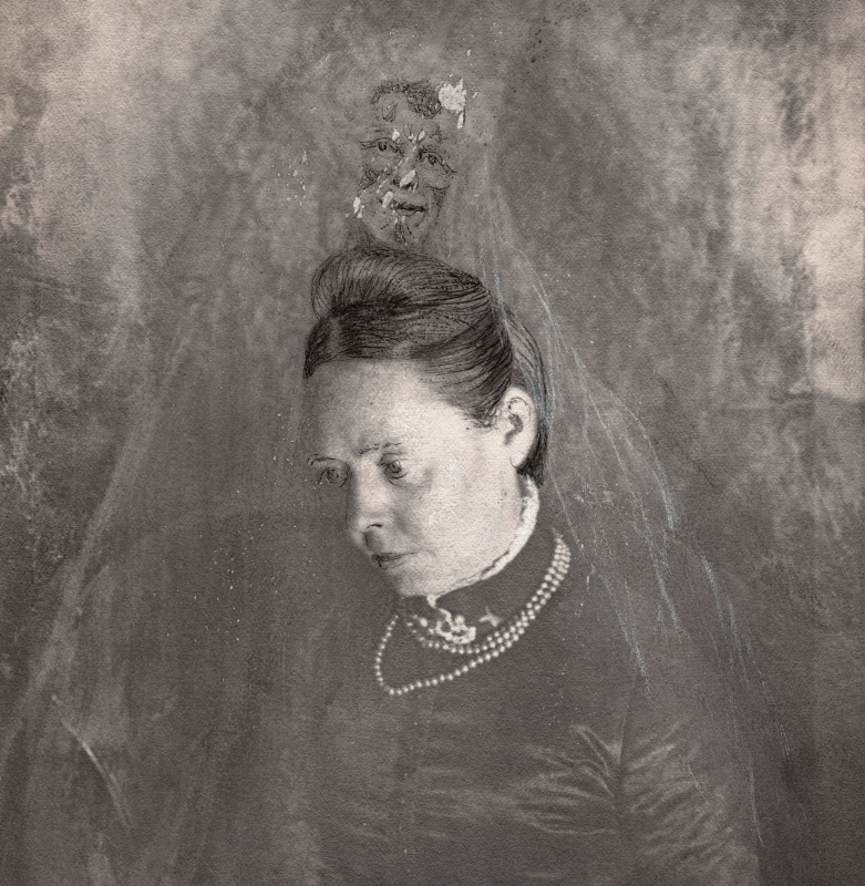 David - Ferelith Vinyl LP  |  Clear/black ghost marble
