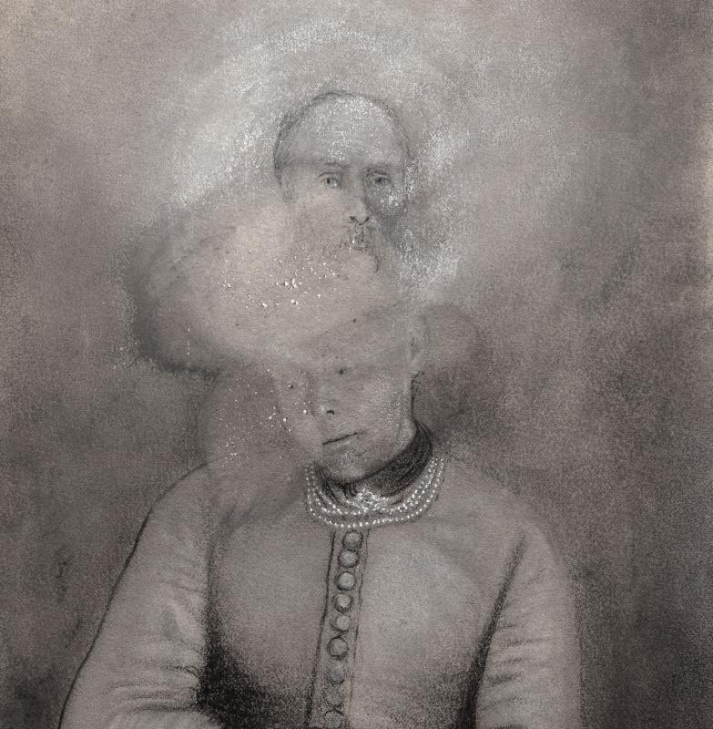 David - Fontelautus Vinyl LP     Clear/black ghost marble