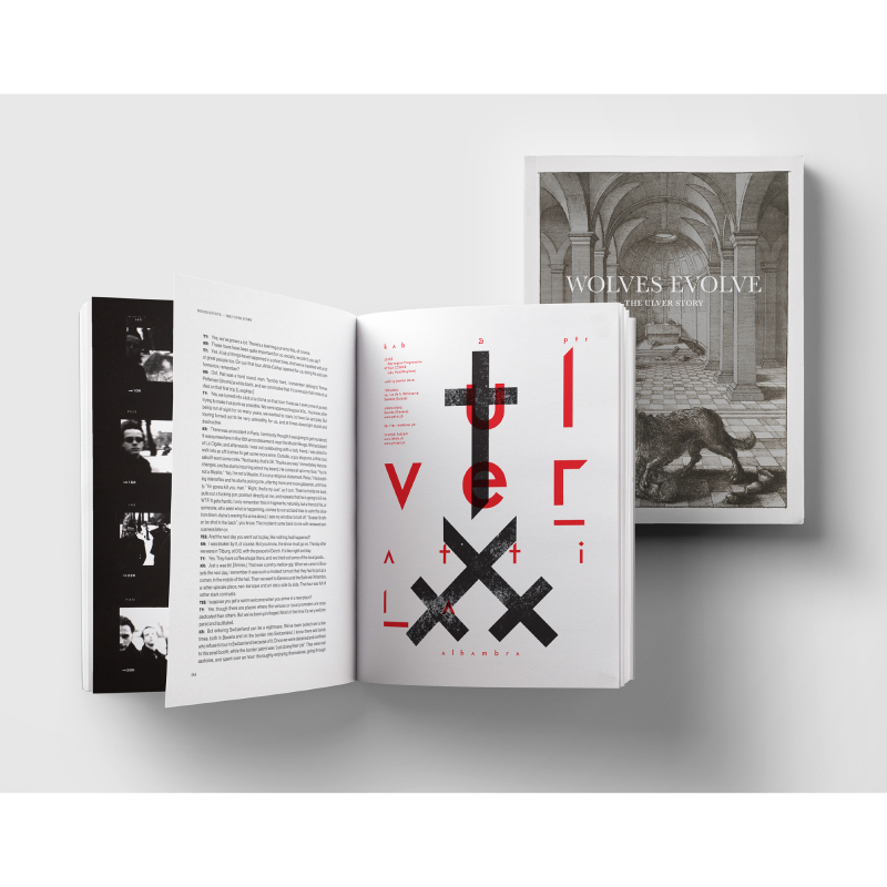 Ulver - Wolves Evolve: The Ulver Story Book